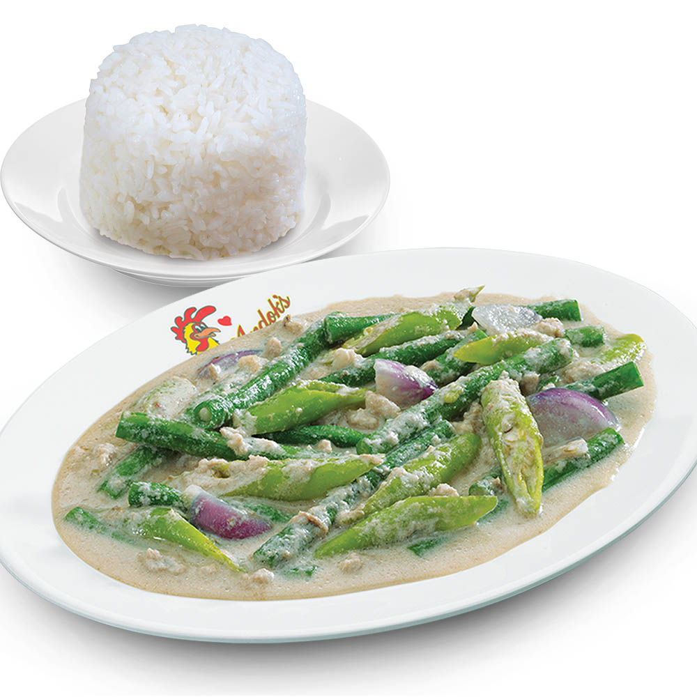 Bicol Express Meal